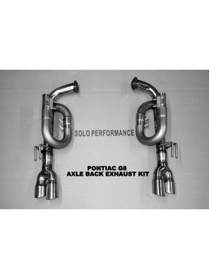 Solo G8 G8 Axle Back Exhaust Kit