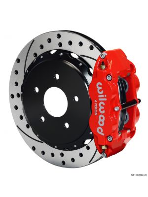 Wilwood Forged Narrow Superlite 4R Big Brake Rear Brake Kit (17