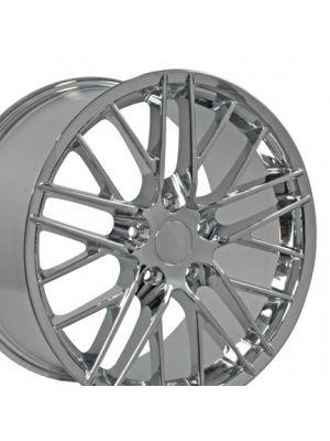 C6 ZR1 Style Wheel Chrome 19x10 (Rear)