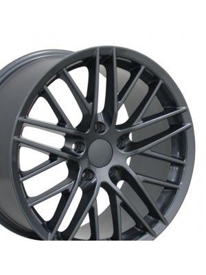 C6 ZR1 Style Wheel Gunmetal 18x9.5