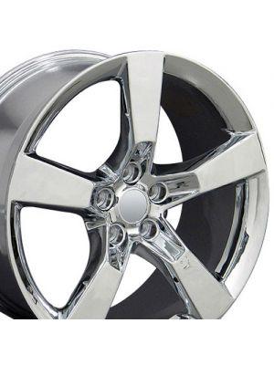 5th Gen Camaro SS Style Wheel, Chrome, 20
