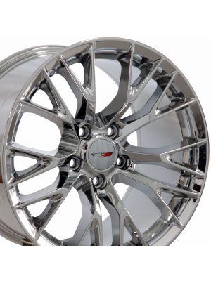 C7 Z06 Wheel, Chrome 18x10.5