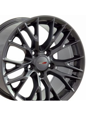 C7 Z06 Wheel, Gunmetal (Competition Grey) 18x10.5