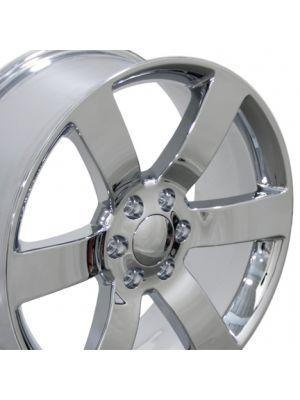 Trailblazer SS Wheel - Chrome 20x8