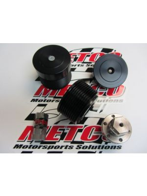 Metco Supercharger Pulley Kit  2015 & Newer Hellcat Challenger & Hellcat Charger
