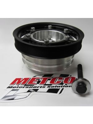 Metco Interchangeable Crank Pulley Kit for LT4 ZL1/CTSV