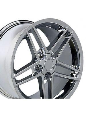 C6 Z06 Style Wheel Chrome 18x10.5