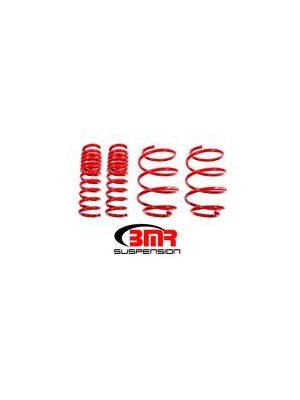 BMR 2016 Camaro Lowering Springs, Set Of 4, Performance Version