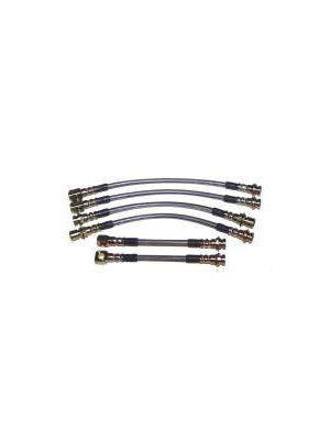 Tractek Steel Braided Brake Hoses
