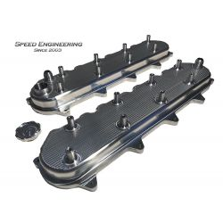Speed Engineering LT Billet Valve Covers (LT1 & LT4 Engines) Universal
