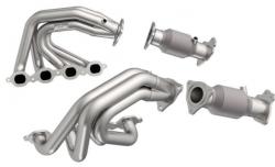 Kooks Super Street Headers and Ultra-GREEN OEM Connections for 2020 C8 Corvette