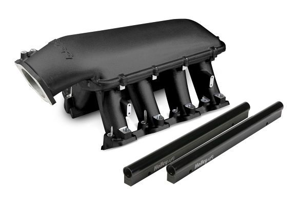 HOLLEY HI-RAM GM LS3/L92 INTAKE - BLACK