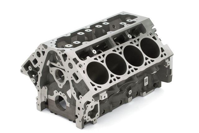 L92 LS3 Aluminum 6 2L Bare Block