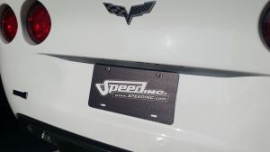 Speed Inc License Plate