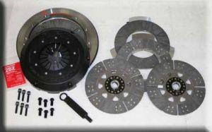 RPS Billet Carbon Twin Disk Clutch w/Flywheel 2010+ Camaro