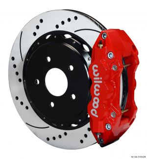 Wilwood W4A Big Brake Rear Brake Kit