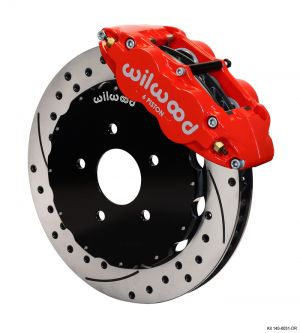 Wilwood Forged Narrow Superlite 6R Big Brake Front Brake Kit (17