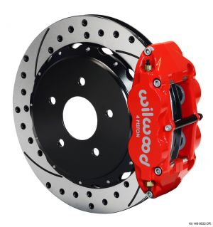 Wilwood Forged Narrow Superlite 4R Big Brake Rear Brake Kit (18