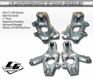 LG Motorsports C7 Corvette Drop Spindles
