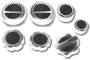 Showstopper Carbon Fiber Underhood Cap Package