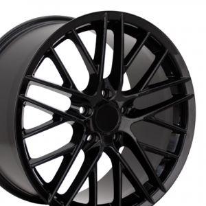 C6 ZR1 Style Wheel Black 18x9.5
