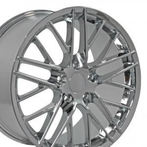 C6 ZR1 Style Wheel Chrome 18x9.5