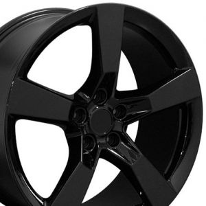 5th Gen Camaro SS Style Wheel, Black  20