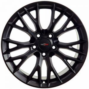 C7 Z06 Wheel, Matte Black 18x10.5