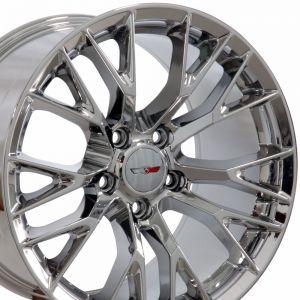 C7 Z06 Wheel, Chrome 17x9.5