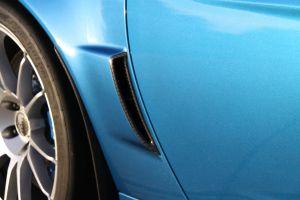 Halltech Z06/GS Rear Carbon Brake Ducts R&L Sides