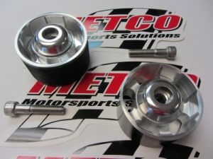 Metco Tensioner Pulley & Idler Pulley Kit 2015 & Newer Hellcat Challenger & Hellcat Charger