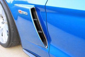 Halltech Front Fender Carbon Engine Ducts R&L Sides