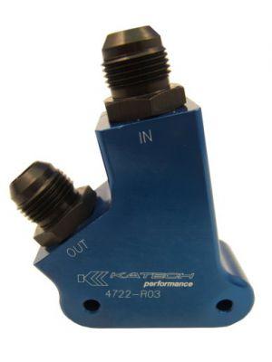Katech Billet Oil Cooler adapter