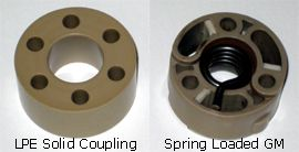 Lingenfelter Solid Supercharger Isolator Coupling