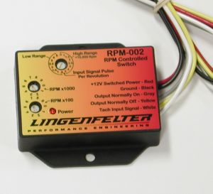 Lingenfelter RPM Activated Window Switch
